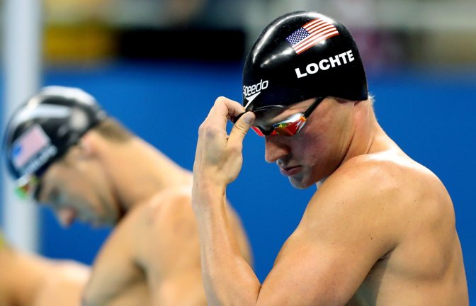 Was Lochte in the wrong?