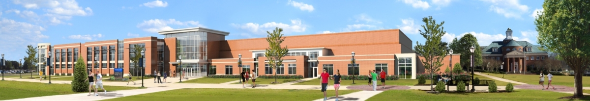 Wingate s largest addition in history for Cost to build a racquetball court