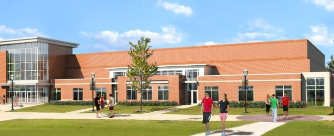 Wingate s largest addition in history for Racquetball court construction cost