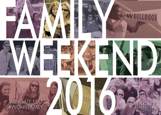 Wingate Prepares for Family Weekend