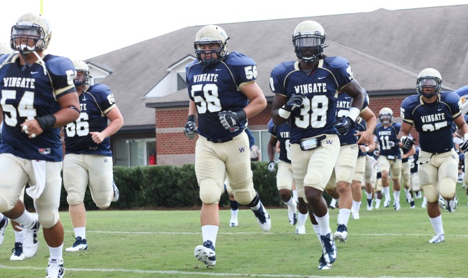 Wingate Bulldogs gear up to face Carson Newman Saturday