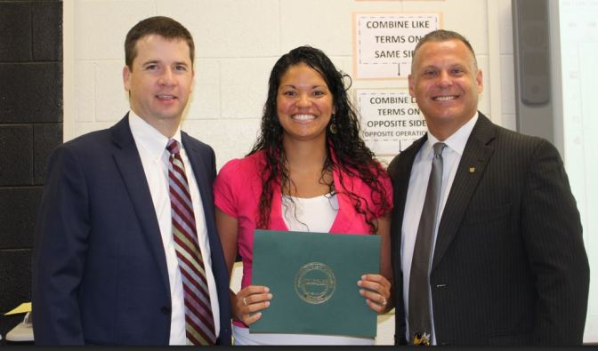 Forest Hills Teacher Recognized by UCPS Board of Education