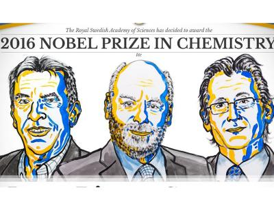 Three scientists receive Nobel Prizes for their work developing 'world's smallest machines'