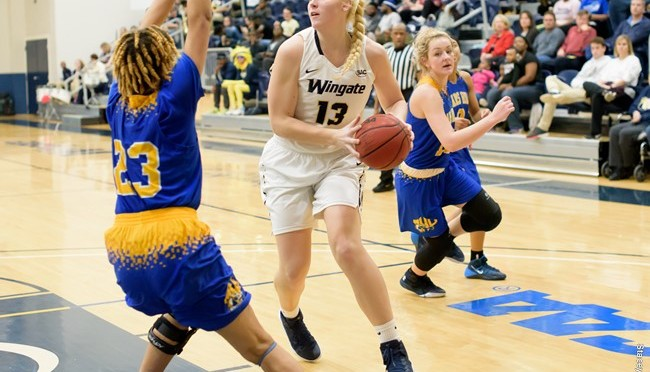 Wingate takes on Tusculum to grasp a 77-45 SAC Victory