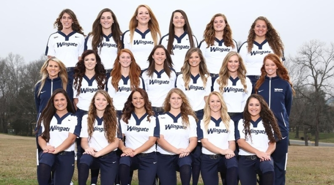 Wingate Softball team is looking to Rebuild in the 2017 Season