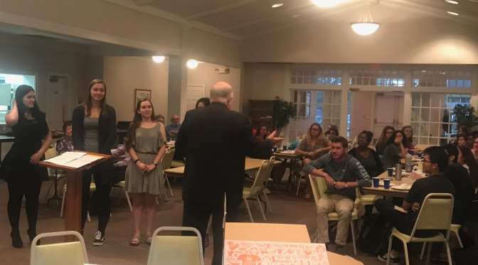 Wingate Leo Club host its first Induction Ceremony to commemorate new members