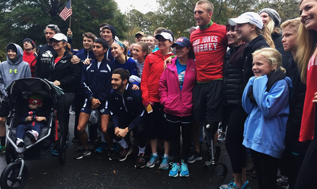 Veteran Shares Difficult Training Regimen For 31 Marathons