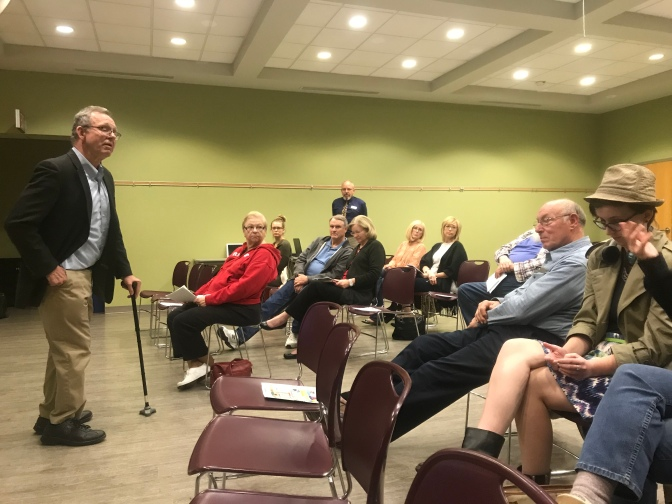 Dr. Cannon speaks at Union County Library on how to discern facts from fake news