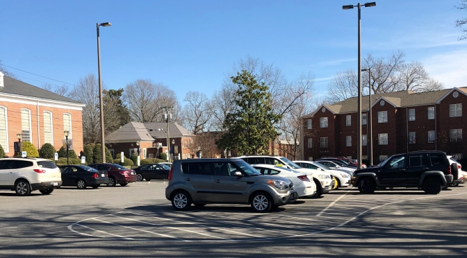 Limited parking at Wingate has students feeling frustrated